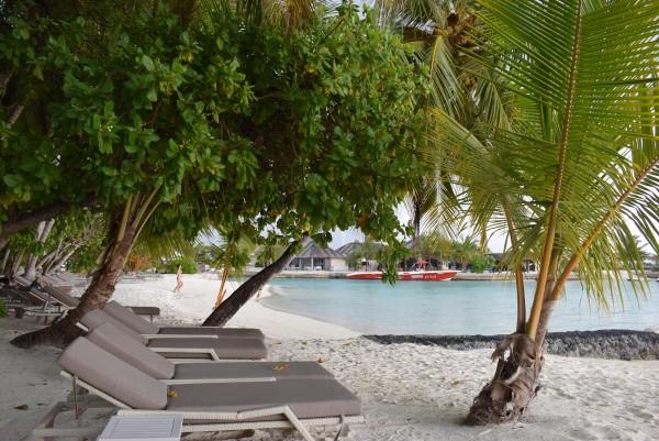 Sunbeds @Kurumba Maldives