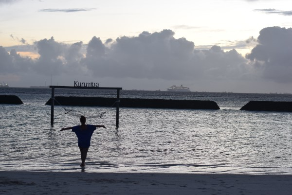 Sunset Sunbeds @Kurumba Maldives